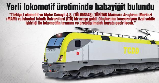 Yerli lokomotif üretiminde babayiğit bulundu