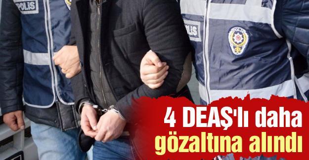 4 DEAŞ'lı daha gözaltına alındı