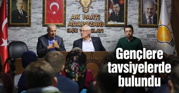 AK gençler Başkan Dişli'yi ağırladı