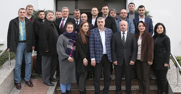 AK Parti Erenler'den Toçoğlu'na ziyaret