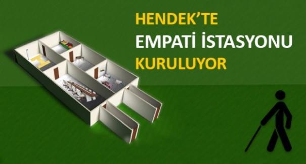 Hendek'te 'Empati İstasyonu' kuruluyor