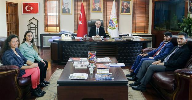 İlçe Sağlık Müdürü'nden Başkan Yılmazer'e nezaket ziyareti