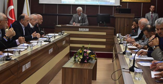 Karasu Belediye Meclisi yapıldı