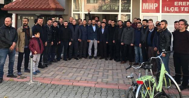 MHP'de Erenler'de istişare toplantısı