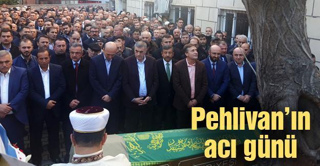 Selime Pehlivan son yolculuğuna uğurlandı
