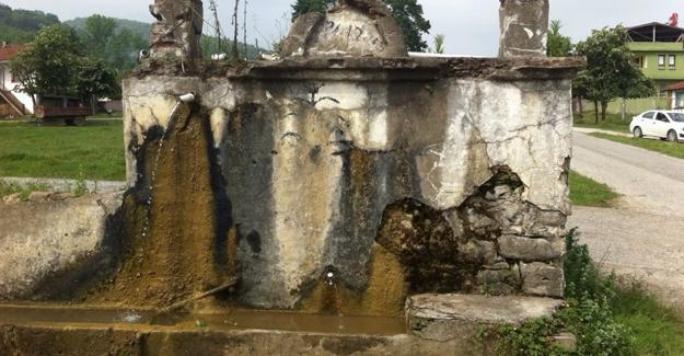 Serdivan'da tarihi çeşmelere estetik dokunuş