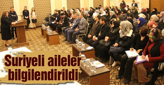 Türkiye'ye uyum sağlamaları amaçlanıyor