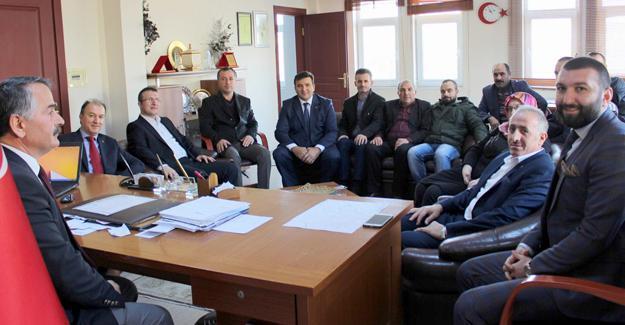Yeni yönetimden Karakullukçu'ya ziyaret