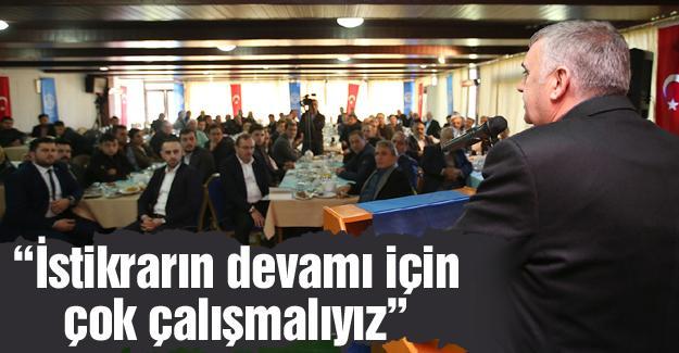 AK Parti Akyazı'da istişare toplantısı