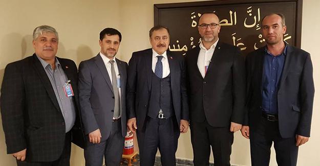 AK Parti Hendek Teşkilatı Ankara'da
