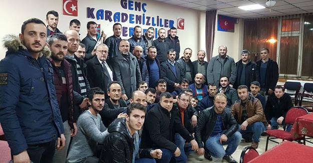AK Parti Hendek'ten mahalle ve dernek ziyareti