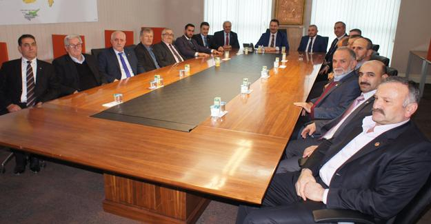 AK Parti Karapürçek'ten Ankara'ya ziyaret