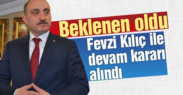 AK Parti Sakarya Fevzi Kılıç ile devam