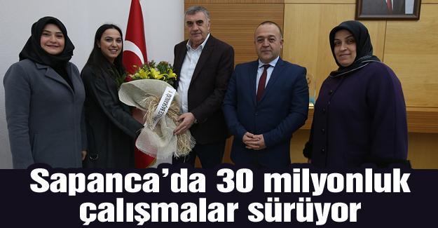 AK Parti Sapanca'dan Toçoğlu'na ziyaret