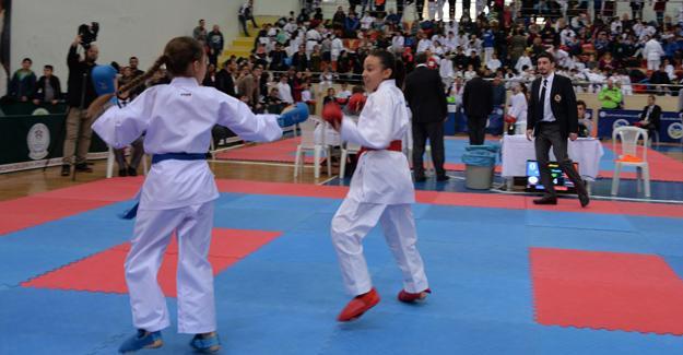 Ali Gaffar Okkan Karate Turnuvası yapıldı
