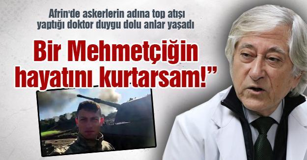 """""""Bir Mehmetçiğin hayatını kurtarsam!"""""""