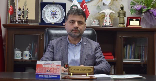 Gökdemir 10 Ocak Gazeteciler Gününü kutladı