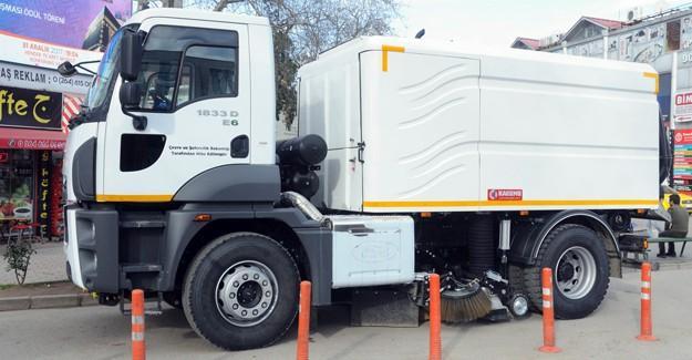 Hendek Belediyesi araç filosunu güçlendiriyor