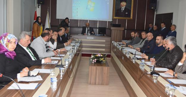 Karasu Belediyesi yılın ilk meclis toplantısını yaptı