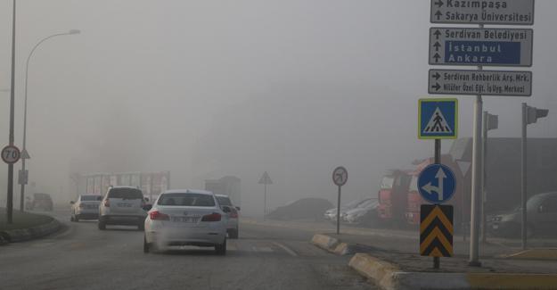 Şehir yeni güne sisle uyandı