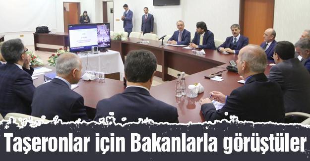 Soylu ve Sarıeroğlu telekonferansla toplantıya katıldı