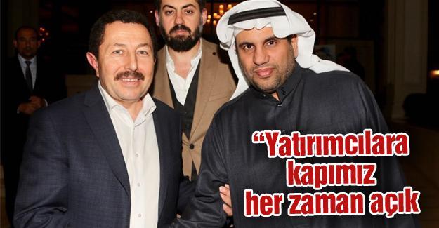 Vali Balkanlıoğlu Suudi Yatırımcılara Sakarya'yı tanıttı