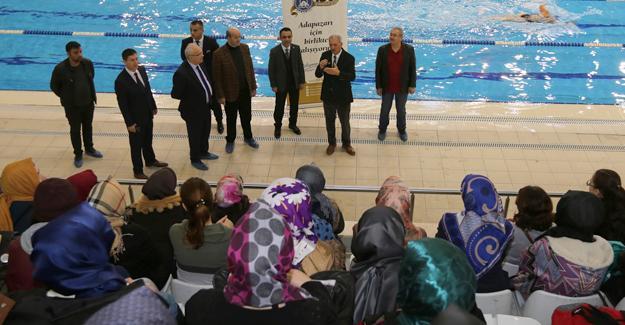 Yüzmede bu yıl ikinci etap açıldı