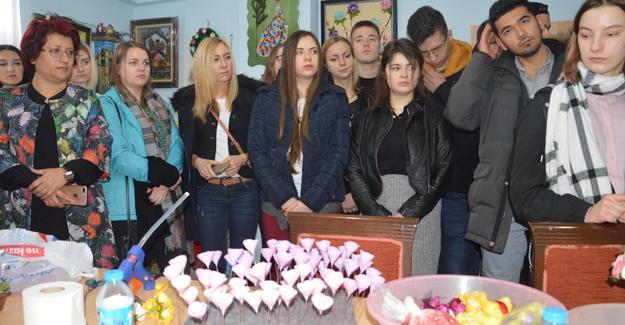 5 ülkeden 24 öğrenci Karasu'da