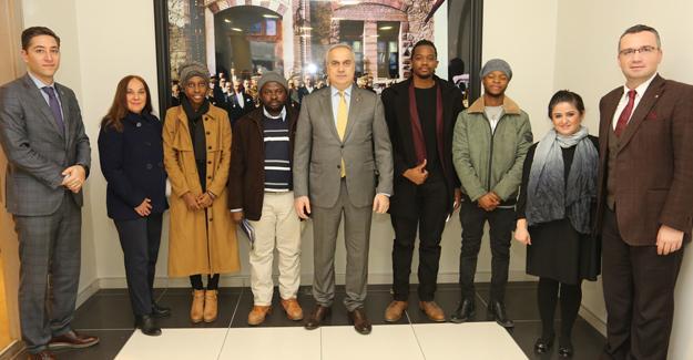 Afrikalı öğrencilerden SATSO'ya ziyaret