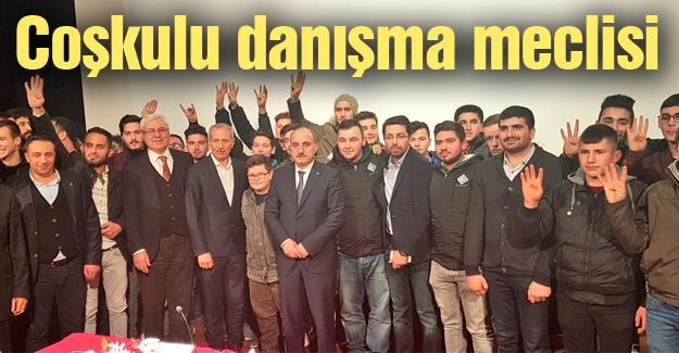 Ak Parti Adapazarı 54. Danışma Meclisini yaptı