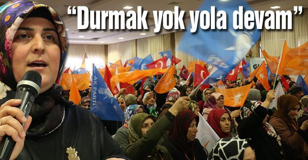 AK Parti Adapazarı Kadın Kolları kongresi gerçekleşti