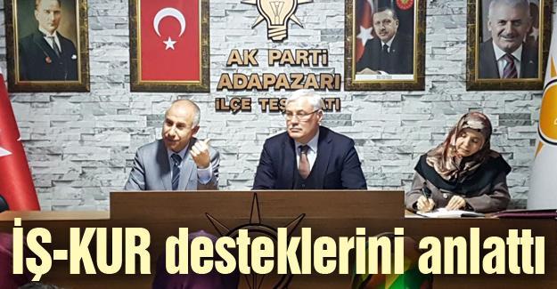 AK Partilileri İŞ-KUR hakkında bilgilendirdi