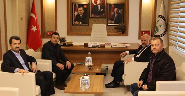 Başhekim'den Başkan Acar'a ziyaret
