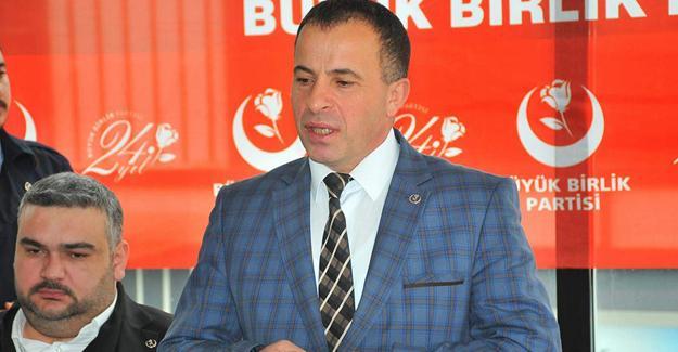 BBP'den Zeytin Dalı Harekatına destek