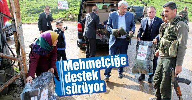 Belediye Meclis üyelerinden Afrin kahramanlarına ziyaret
