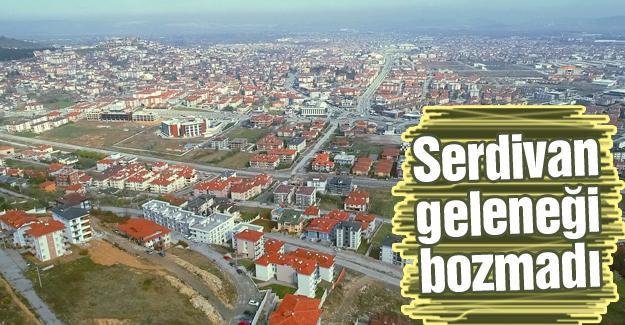 En büyük üç mahalle Serdivan'da