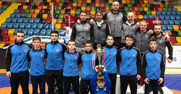 Hendekli Güreşçiler Türkiye ikincisi