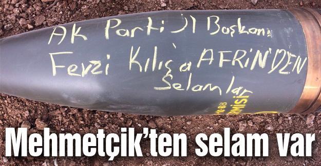 İl Başkanı Kılıç'ın adını yazdılar