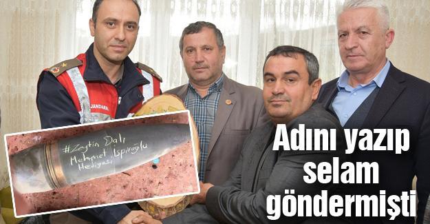 İspiroğlu'ndan Afrin'de görevli askerin evine ziyaret