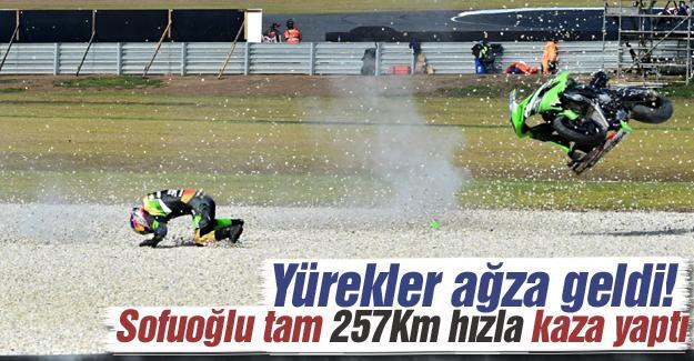 Kenan Sofuoğlu kaza yaptı!