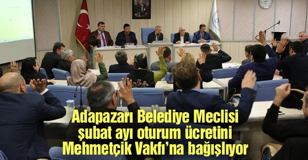 Meclis toplantısı Dişli başkanlığında yapıldı