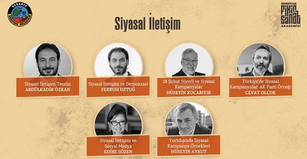Siyasal iletişimin nabzı Serdivan'da atacak