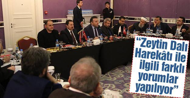 Vali Balkanlıoğlu, Platformun konuğu oldu