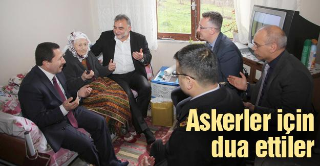 Vali Balkanlıoğlu'ndan yaşlı ve gazi ziyareti