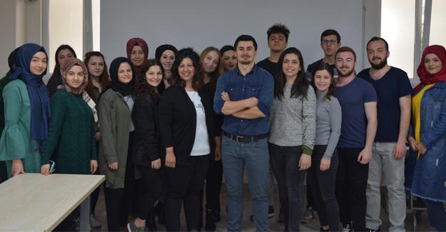 AGDAŞ'tan Halkla İlişkiler öğrencilerine eğitim