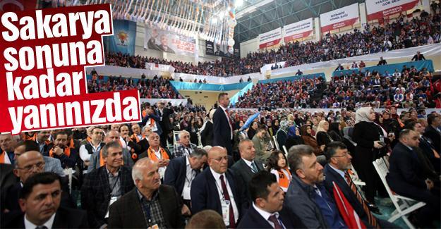 AK Parti Sakarya'dan coşkulu kongre