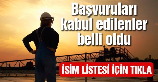 Arifiye Belediyesinde taşeron işçi listesi açıklandı