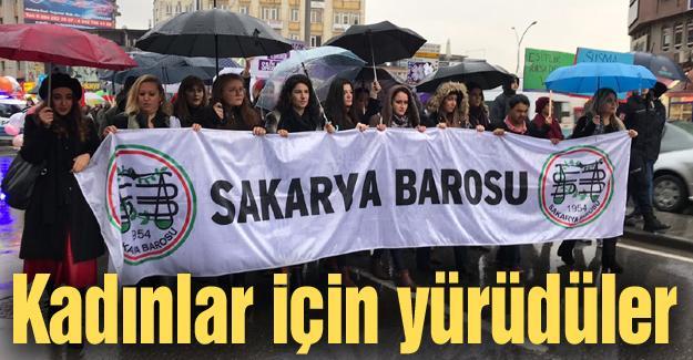 Baro ve Kadın Platformundan yürüyüş