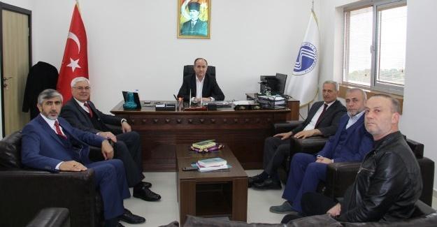 Başkan Dişli'den, Dekan Bostancı'ya ziyaret