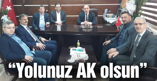 Başkan Alemdar Kılıç'ı tebrik etti